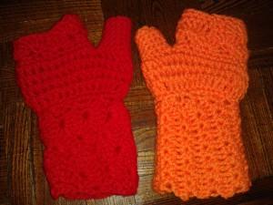 heklana-rukavica-oranz